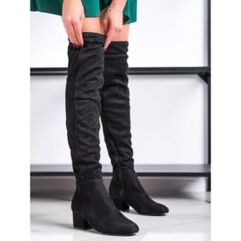 Fashion Czarne Muszkieterki 2
