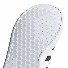 Buty dla dzieci adidas Grand Court C czarno-białe EF0108 czarne 5