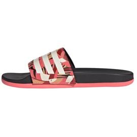 Klapki adidas Adilette Comfort W FW7256 różowe wielokolorowe 1