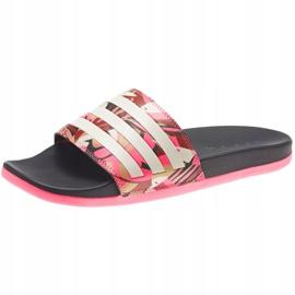 Klapki adidas Adilette Comfort W FW7256 różowe wielokolorowe 2