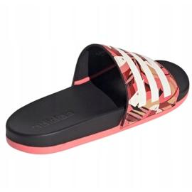 Klapki adidas Adilette Comfort W FW7256 różowe wielokolorowe 4