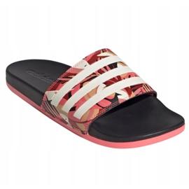 Klapki adidas Adilette Comfort W FW7256 różowe wielokolorowe 5