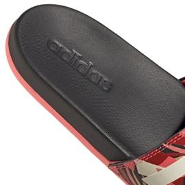 Klapki adidas Adilette Comfort W FW7256 różowe wielokolorowe 6
