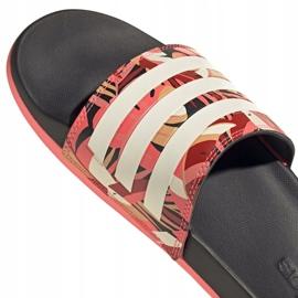 Klapki adidas Adilette Comfort W FW7256 różowe wielokolorowe 7