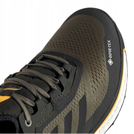 Buty adidas Terrex Agravic Flow Gtx M FU7450 wielokolorowe wielokolorowe zielone 2