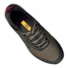 Buty adidas Terrex Agravic Flow Gtx M FU7450 wielokolorowe wielokolorowe zielone 3
