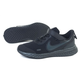 Buty Nike Rebolution 5 (PSV) Jr BQ5672-001 czarne 1