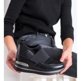 Gogo Wsuwane Sneakersy czarne 2