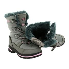 American Club American softhell buty nieprzemakalne SN13/20 grey różowe szare 3