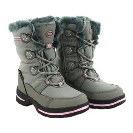 American Club American softhell buty nieprzemakalne SN13/20 grey różowe szare 2