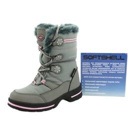 American Club American softhell buty nieprzemakalne SN13/20 grey różowe szare 4