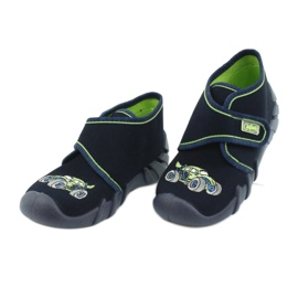 Befado  obuwie dziecięce 523P018 granatowe 3
