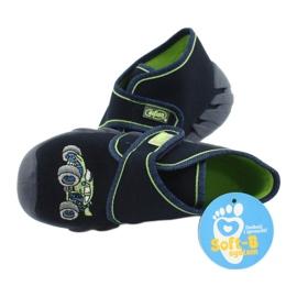 Befado  obuwie dziecięce 523P018 granatowe 5