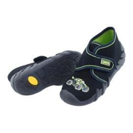 Befado  obuwie dziecięce 523P018 granatowe 4