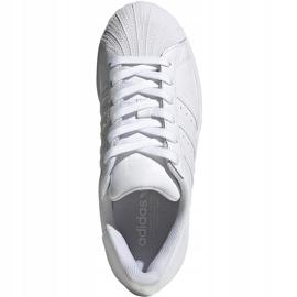 Buty dla dzieci adidas Superstar J białe EF5399 1