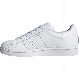 Buty dla dzieci adidas Superstar J białe EF5399 2