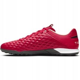 Buty piłkarskie Nike Tiempo Legend 8 Academy Tf M AT6100 608 czerwone czerwone 1