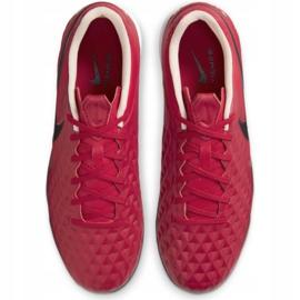 Buty piłkarskie Nike Tiempo Legend 8 Academy Tf M AT6100 608 czerwone czerwone 3