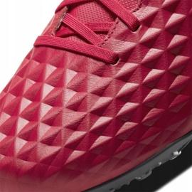 Buty piłkarskie Nike Tiempo Legend 8 Academy Tf M AT6100 608 czerwone czerwone 4