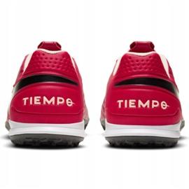 Buty piłkarskie Nike Tiempo Legend 8 Academy Tf M AT6100 608 czerwone czerwone 6