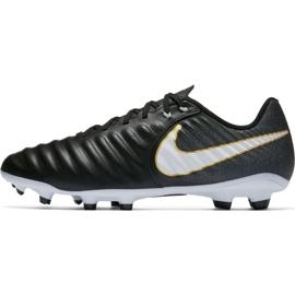 Buty piłkarskie Nike Tiempo Ligera Iv Fg 897744 002 czarne czarne 2