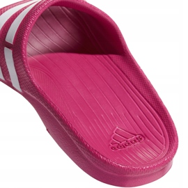 Klapki adidas Duramo Slide K różowe G06797 3