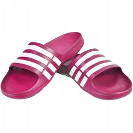 Klapki adidas Duramo Slide K różowe G06797 1
