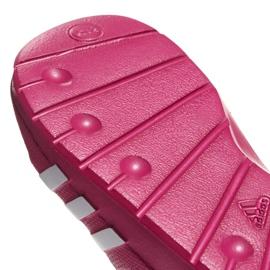 Klapki adidas Duramo Slide K różowe G06797 5