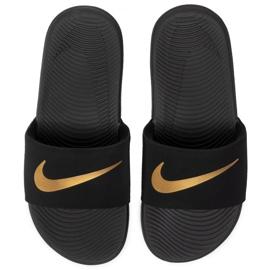 Klapki dla dzieci Nike Kawa Slide(GS/PS) czarne 819352 003 2