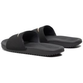 Klapki dla dzieci Nike Kawa Slide(GS/PS) czarne 819352 003 3
