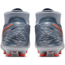 Buty piłkarskie Nike Phantom Vsn Academy Df FG/MG AO3258 408 szare wielokolorowe 4
