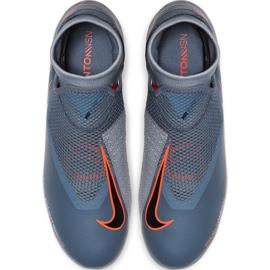 Buty piłkarskie Nike Phantom Vsn Academy Df FG/MG AO3258 408 szare wielokolorowe 1