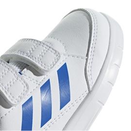 Buty dla dzieci adidas AltaSport Cf I biało-niebieskie D96844 białe 3