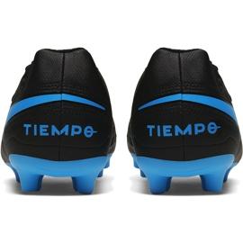Buty piłkarskie Nike Tiempo Legend 8 Club FG/MG AT6107 004 czarne czarne 4