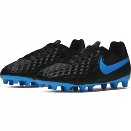 Buty piłkarskie Nike Tiempo Legend 8 Club FG/MG AT6107 004 czarne czarne 3