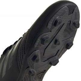 Buty piłkarskie adidas Predator 19.4 FxG Junior czarne EF8989 5