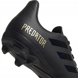 Buty piłkarskie adidas Predator 19.4 FxG Junior czarne EF8989 4