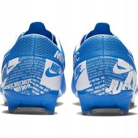 Buty piłkarskie Nike Mercurial Vapor 13 Academy FG/MG AT5269 414 niebieskie niebieskie 4