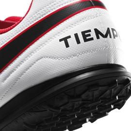 Buty piłkarskie Nike Tiempo Legend 8 Club Tf AT6109 606 czerwone czerwone 6