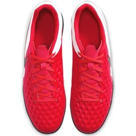 Buty piłkarskie Nike Tiempo Legend 8 Club Tf AT6109 606 czerwone czerwone 2