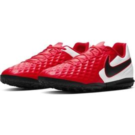 Buty piłkarskie Nike Tiempo Legend 8 Club Tf AT6109 606 czerwone czerwone 3