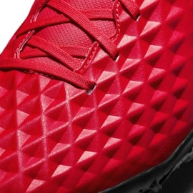 Buty piłkarskie Nike Tiempo Legend 8 Club Tf AT6109 606 czerwone czerwone 5