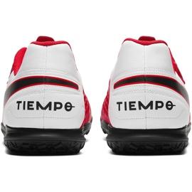 Buty piłkarskie Nike Tiempo Legend 8 Club Tf AT6109 606 czerwone czerwone 4