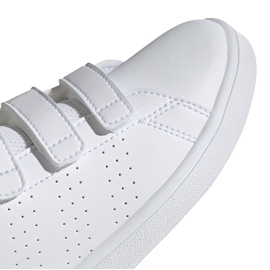 Buty dla dzieci adidas Advantage C biało-różowe EF0221 1