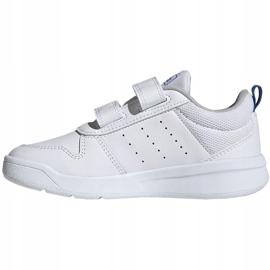 Buty dla dzieci adidas Tensaur C biało-niebieskie EF1096 2
