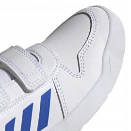 Buty dla dzieci adidas Tensaur C biało-niebieskie EF1096 3