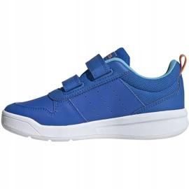 Buty dla dzieci adidas Tensaur C niebieskie EG4090 2