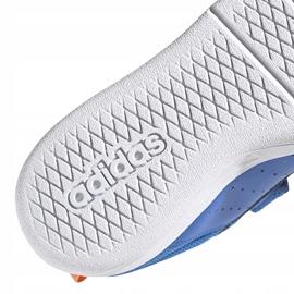 Buty dla dzieci adidas Tensaur C niebieskie EG4090 4