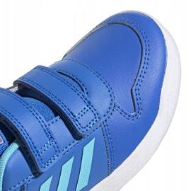 Buty dla dzieci adidas Tensaur C niebieskie EG4090 3