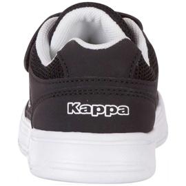 Buty Kappa Dalton K czarno-białe 260779K 1110 czarne 4